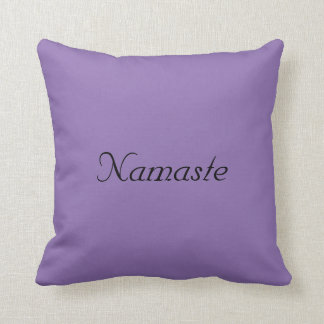 Yoga Namaste Pillow