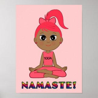 Yoga Namaste Print