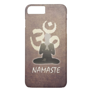 Yoga Namaste Vintage Om Aum Mediation iPhone 7 Plus Case