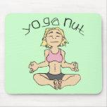 Yoga Nut Yogi Gear Mouse Pad