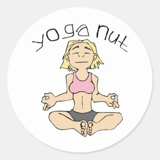 Yoga Nut Yogi Gear Stickers