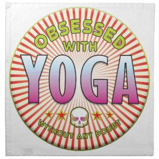 Yoga Obsessed R Napkin