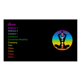 Yoga Pack Of Standard Business Cards