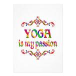 Yoga Passion Custom Invitation
