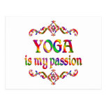 Yoga Passion Post Cards