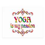 Yoga Passion Postcard