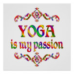 Yoga Passion Print