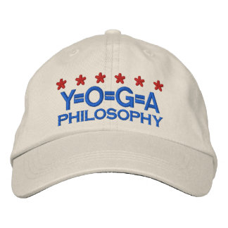 YOGA PHILOSOPHY EMBROIDERED HATS