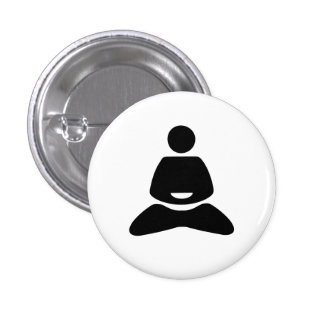 Yoga Pictogram Button