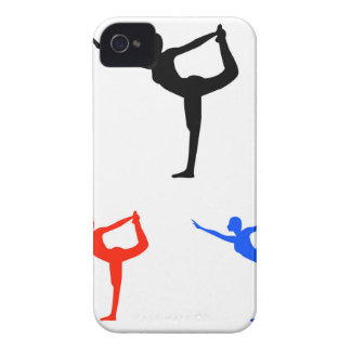 Yoga pilate iPhone 4 Case-Mate case
