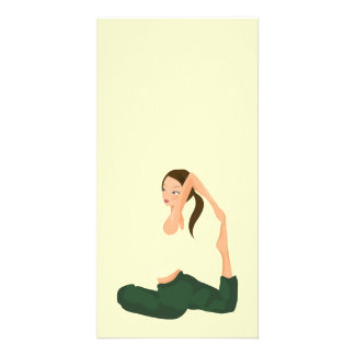 Yoga Pilates l Health & Fitness Personalised Photo Card