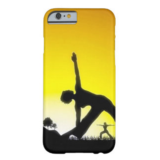 Yoga Pilates Session Out in Nature Barely There iPhone 6 Case