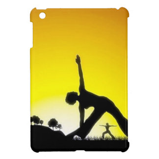 Yoga Pilates Session Out in Nature Cover For The iPad Mini