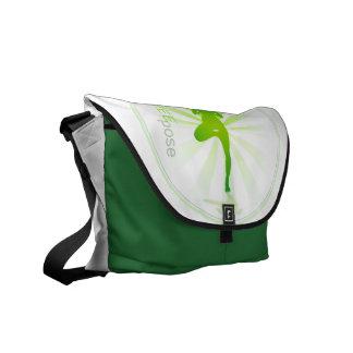 Yoga Pose Bag (tree pose) Messenger Bag