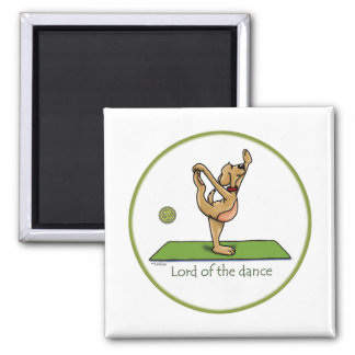 Yoga pose - Lord of the Dance Magnet