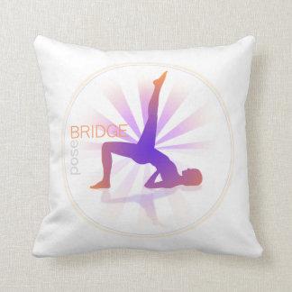 Yoga Pose Pillow (bridge pose)