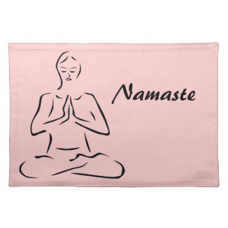 Yoga Pose Placemat