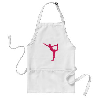Yoga Pose Standard Apron