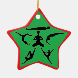 Yoga Poses - Christmas Ornaments