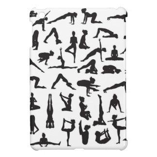 Yoga Poses Silhouettes iPad Mini Case