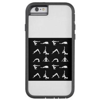 Yoga poses tough xtreme iPhone 6 case