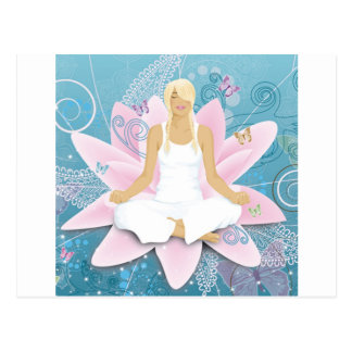 yoga post cards