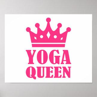 Yoga Queen Poster