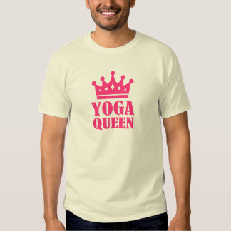 Yoga Queen Tshirts
