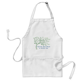 Yoga Quote: Cherish That Which is Within You Standard Apron