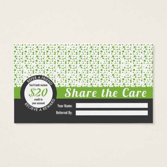 Yoga Referral Business Card