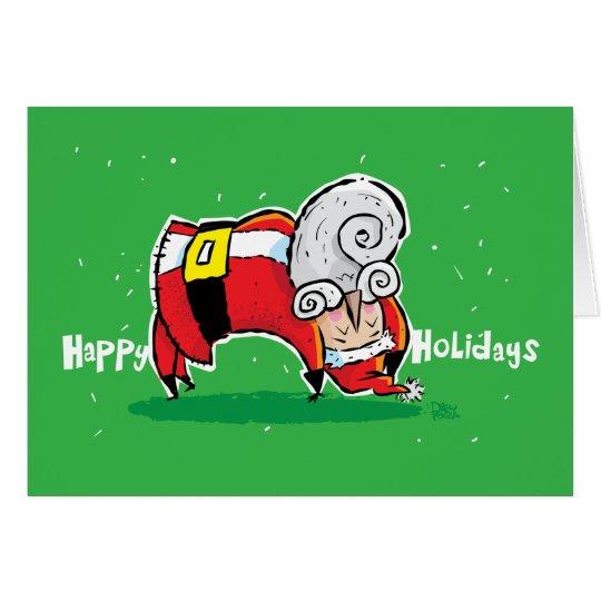 Yoga Santa Card