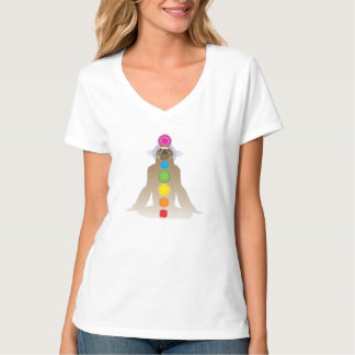 Yoga Sloth Chakras T-Shirt