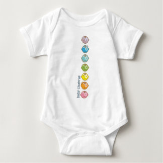 Yoga Speak Baby : All Baby Chakras Baby Bodysuit