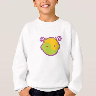 Yoga Speak Baby : Big Girl Yin-Yang Sweatshirt