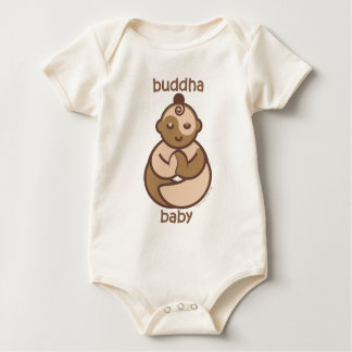 Yoga Speak Baby: Flesh Buddha Baby Baby Bodysuit