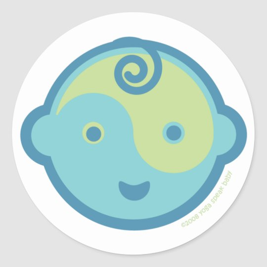 Yoga Speak Baby : Lil' Yogi Stickers