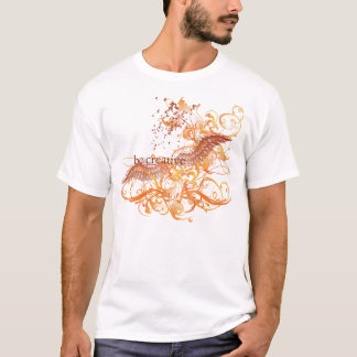 "Yoga Speak : ""Be Creative"" Orange Chakra T-Shirt"