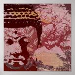 Yoga Speak : Buddha Tree Print