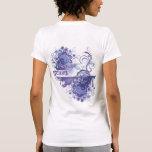 Yoga Speak : Purple Peace Chakra Shirt