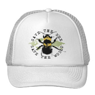 Yoga Speak : Save the Bee...Baseball Cap