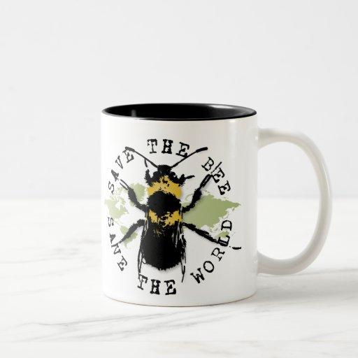 Yoga Speak : Save The Bee...Mug