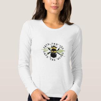 Yoga Speak : Save The Bee ... Save The World! Tees