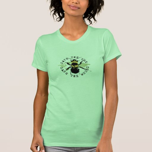 Yoga Speak : Save the Bee ... Save the World! Tshirt
