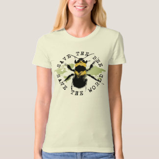 Yoga Speak : Save the Bee...Tee T-Shirt