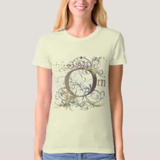 Yoga Speak : Swirling Om Design T-Shirt