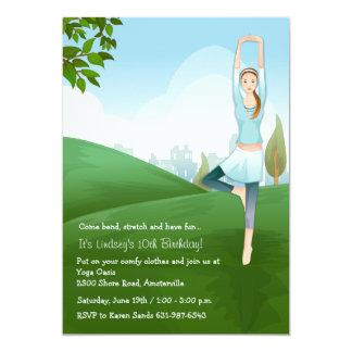 Yoga Spirit Invitation
