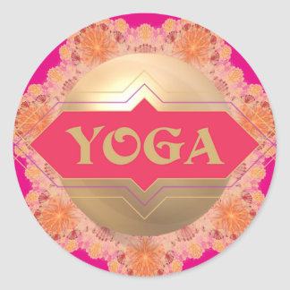 Yoga Spirit sticker