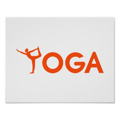 Yoga sports poster