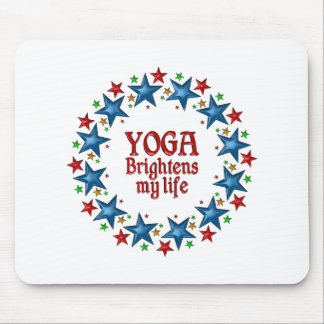 Yoga Stars Mouse Mat