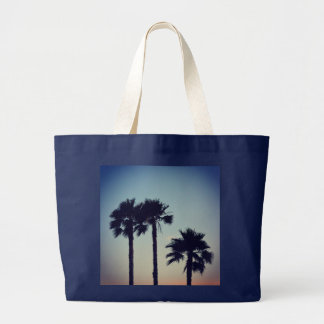 Yoga Sunset Large Tote Bag